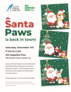 2019 Santa Paws @ Pet Supplies Plus | Quincy | Massachusetts | United States