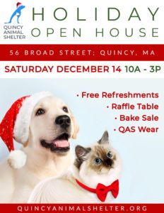 QAS Holiday Open House @ QAS | Quincy | Massachusetts | United States